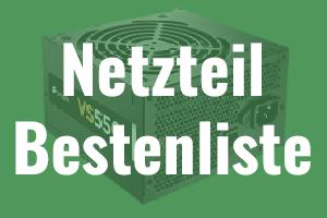 PC Netzteil Bestenliste 2016