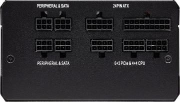Corsair RM650x Anschlüsse